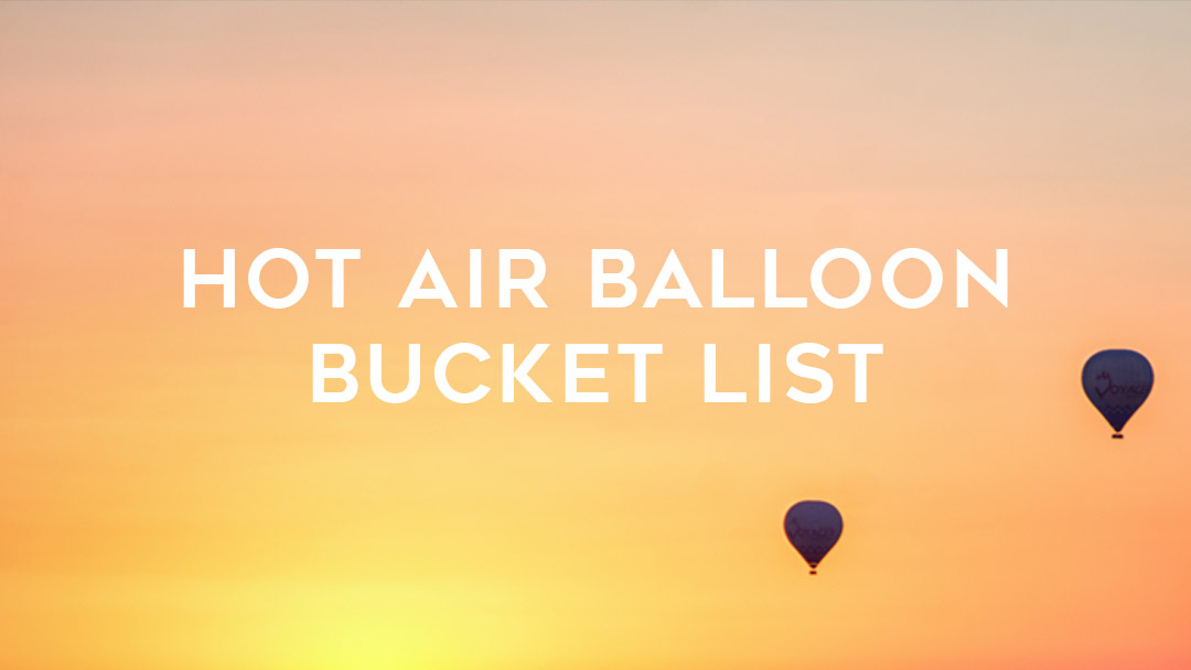 hot air ballooon