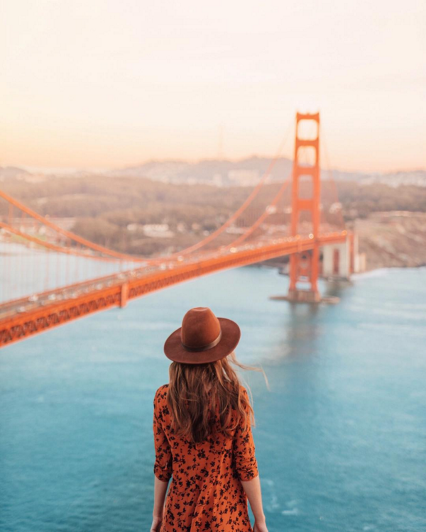 10. San Francisco: Golden Gate Bridge @helloemilie