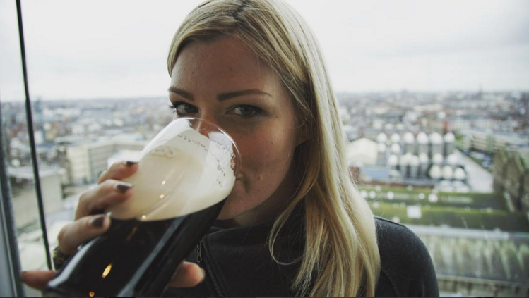 18. @rinehlers by @grahamtesheldon in the Guiness Brewery in Dublin