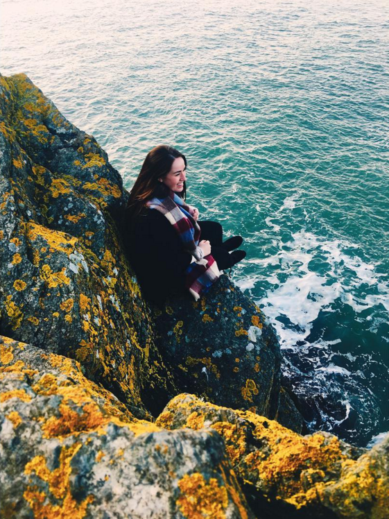 14. @lizzzgarrison at Howth Cliffs