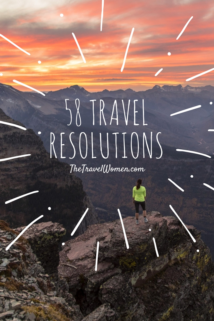NYE Travel resolutions