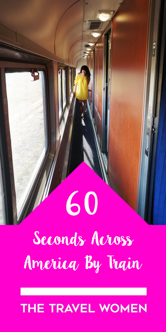 60 Seconds Across America by Train