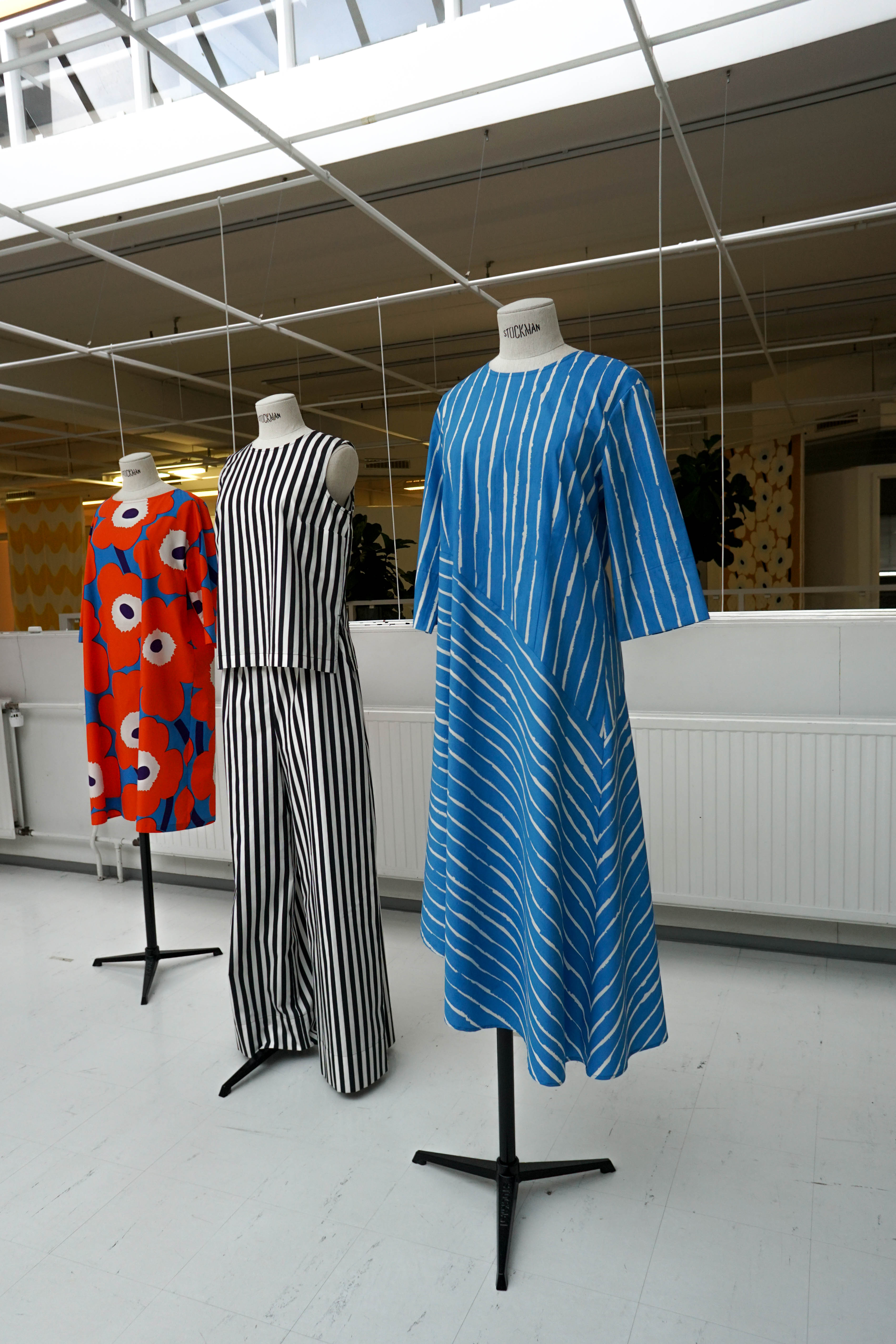 Blue dress Marimekko Collection