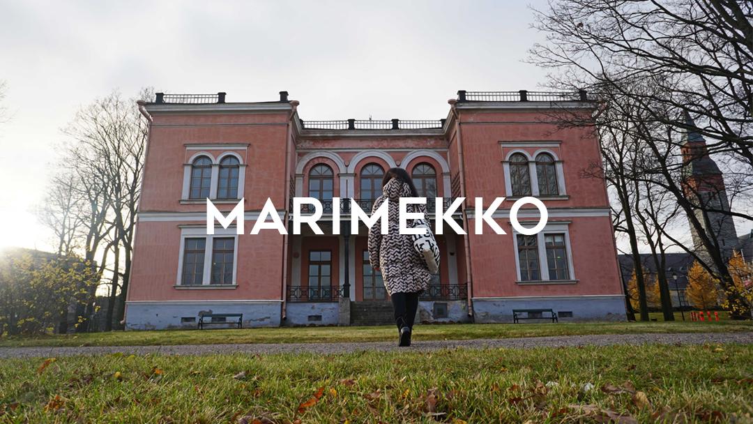 Marimekko designs in Helsinki