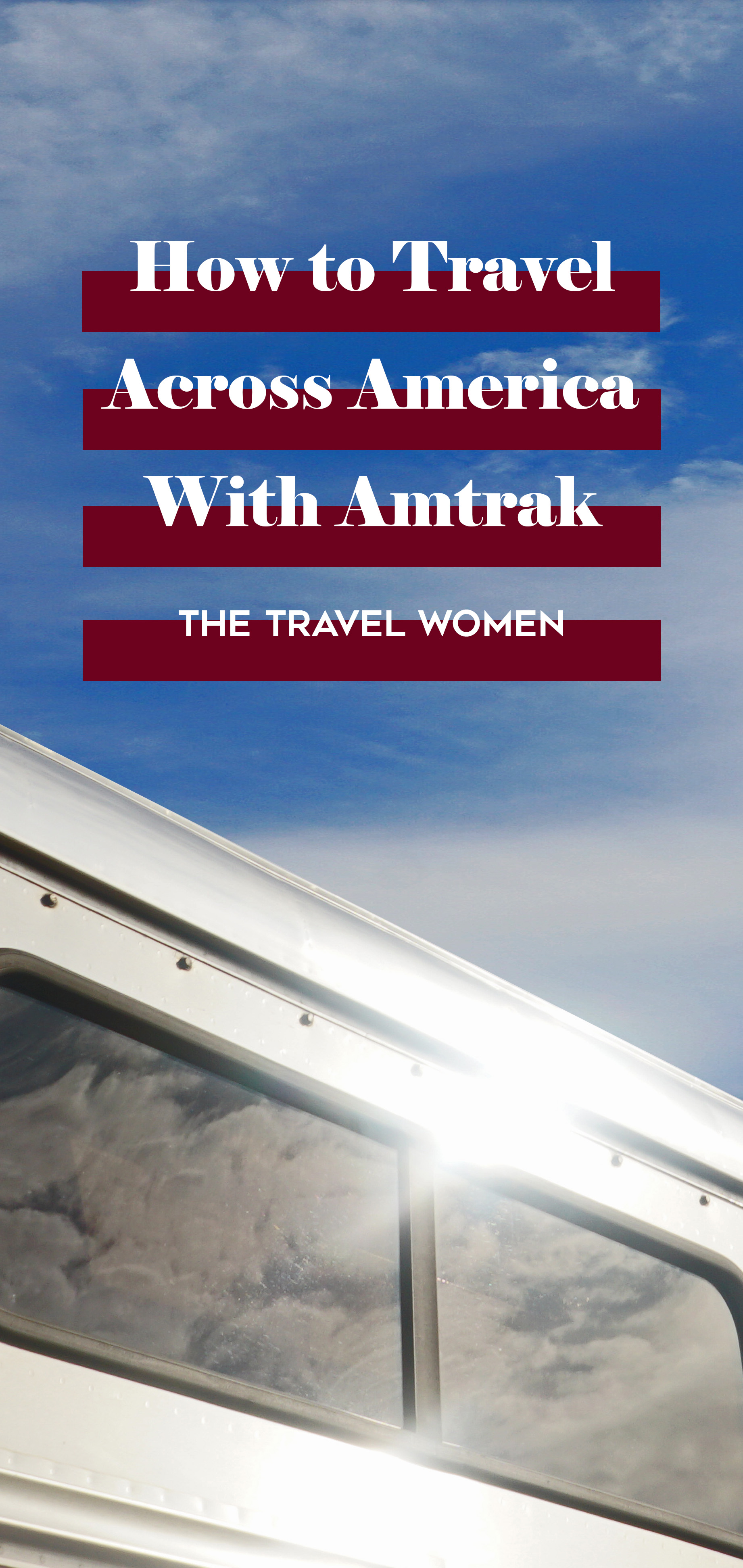 How to Travel Across America With Amtrak sun on train