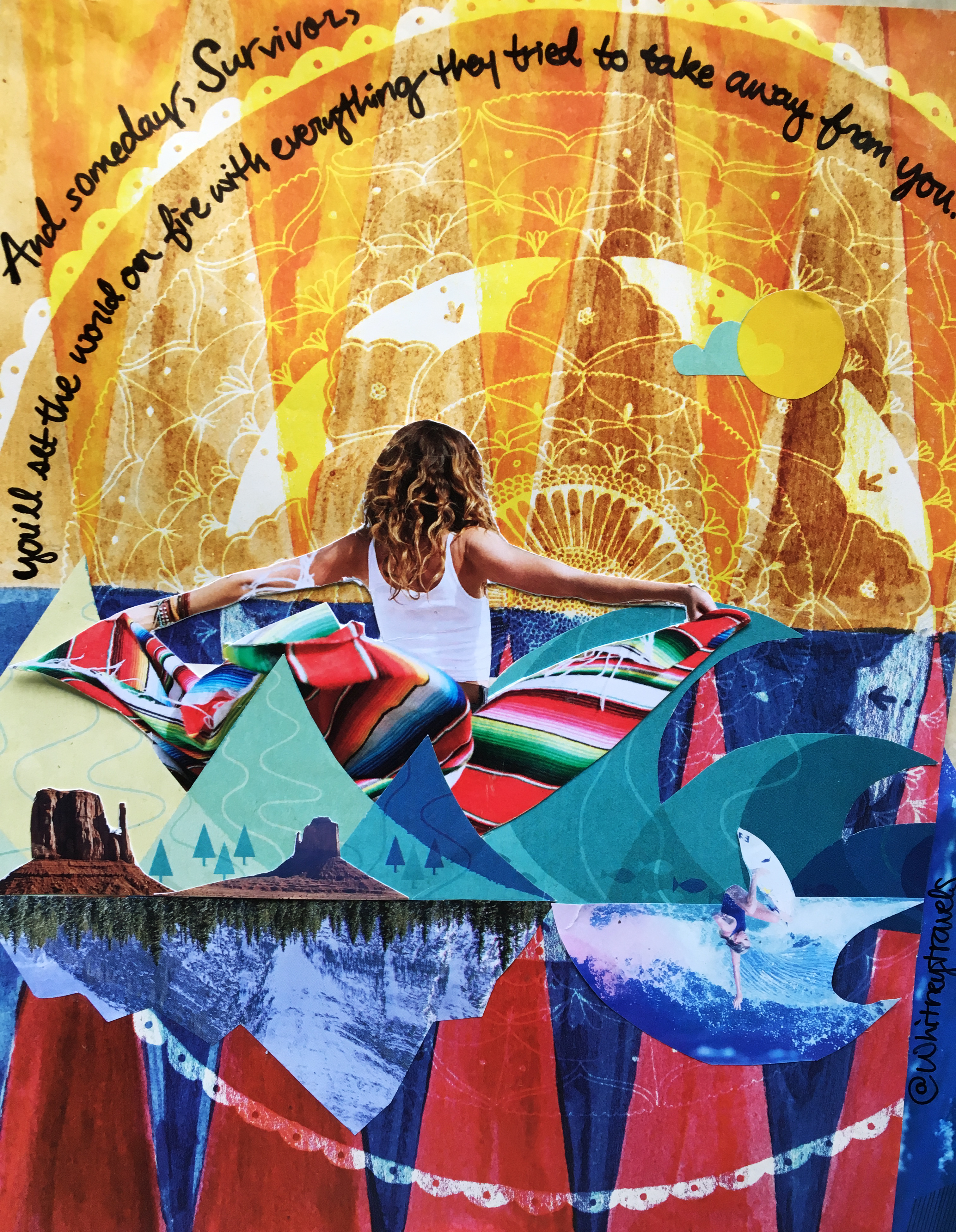 Whitney Tressel Survivor Collage The Travel Women