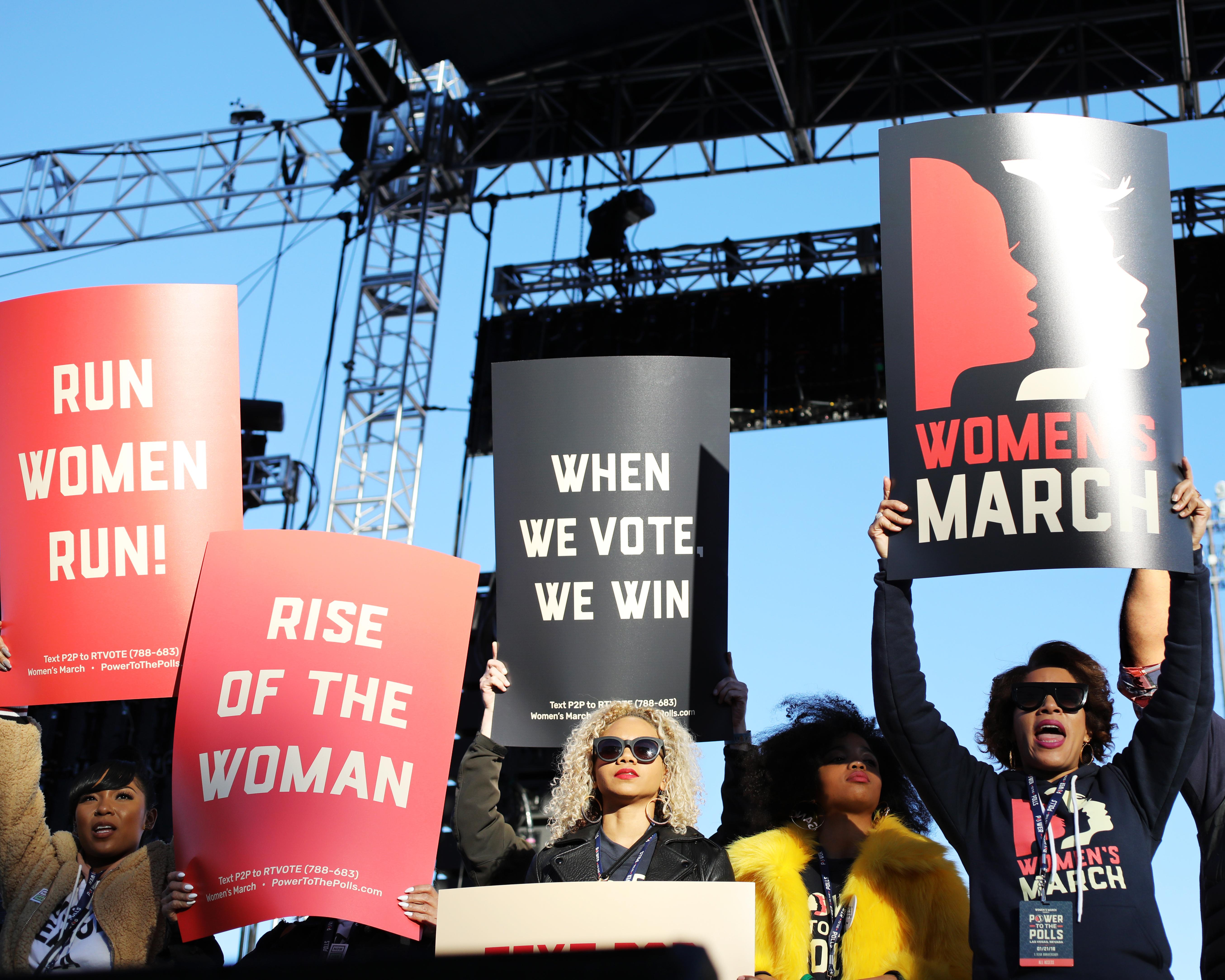 Womens March 2018 Las Vegas Whitney Tressel The Travel Women