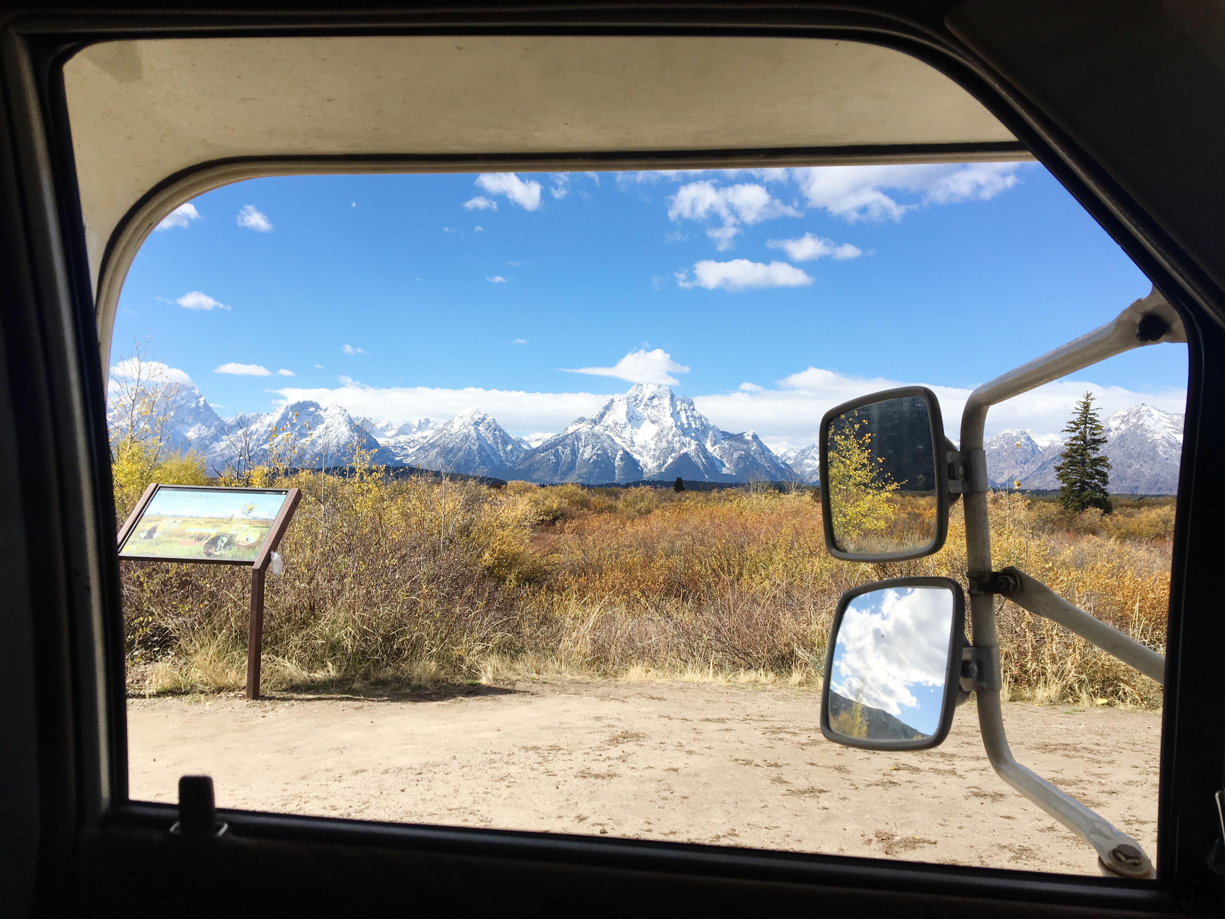 Whitney Tressel Grand Tetons National Park Wyoming