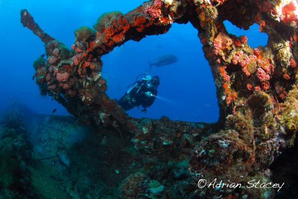 Wreck Dive Adrian Stacey
