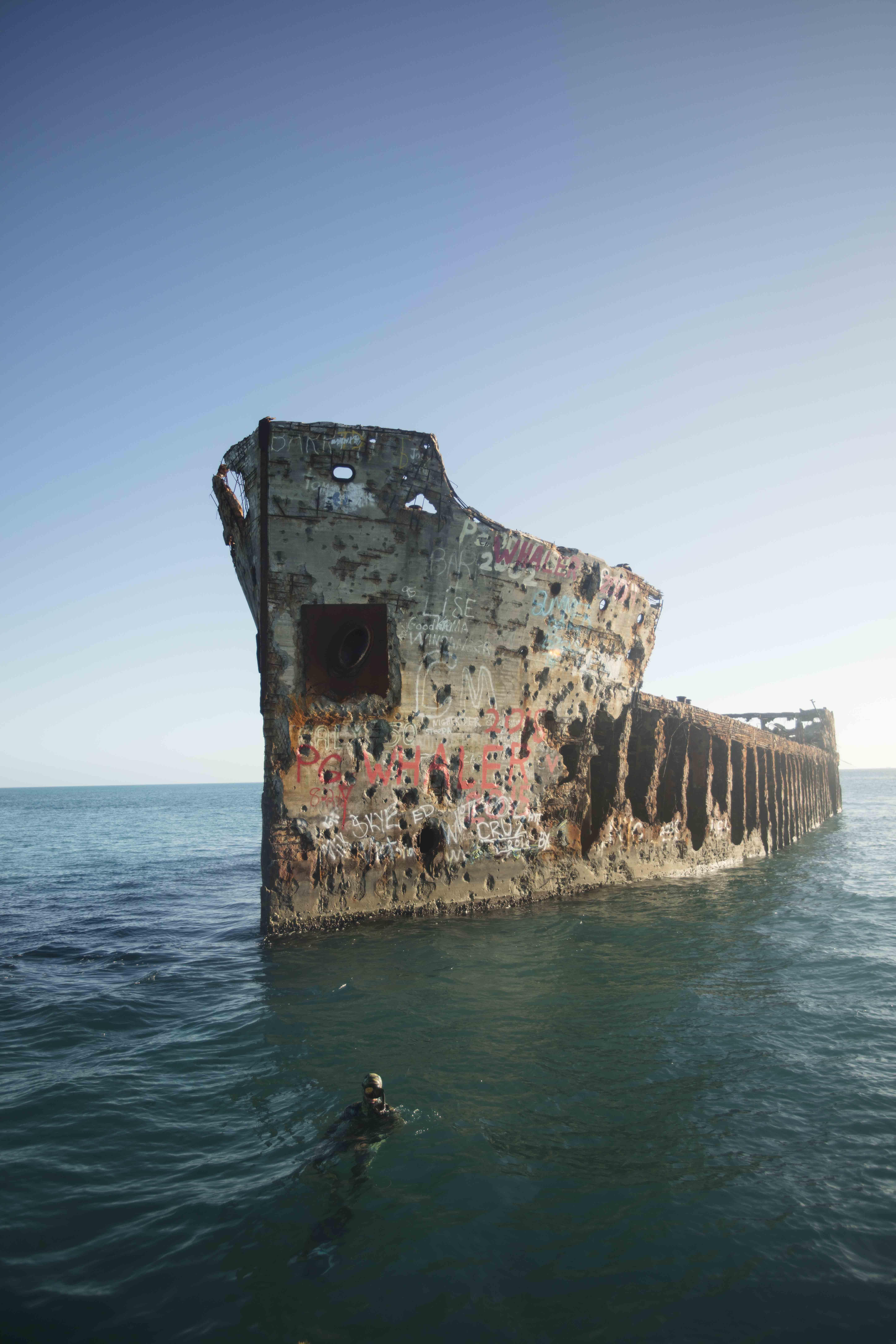 SS Sapona Bimini Padi scuba diving wreck