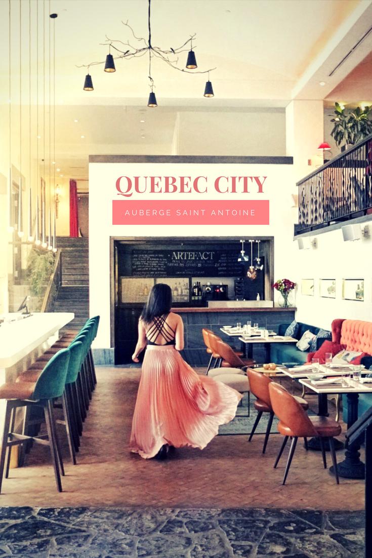 Auberge Saint Antoine Quebec city