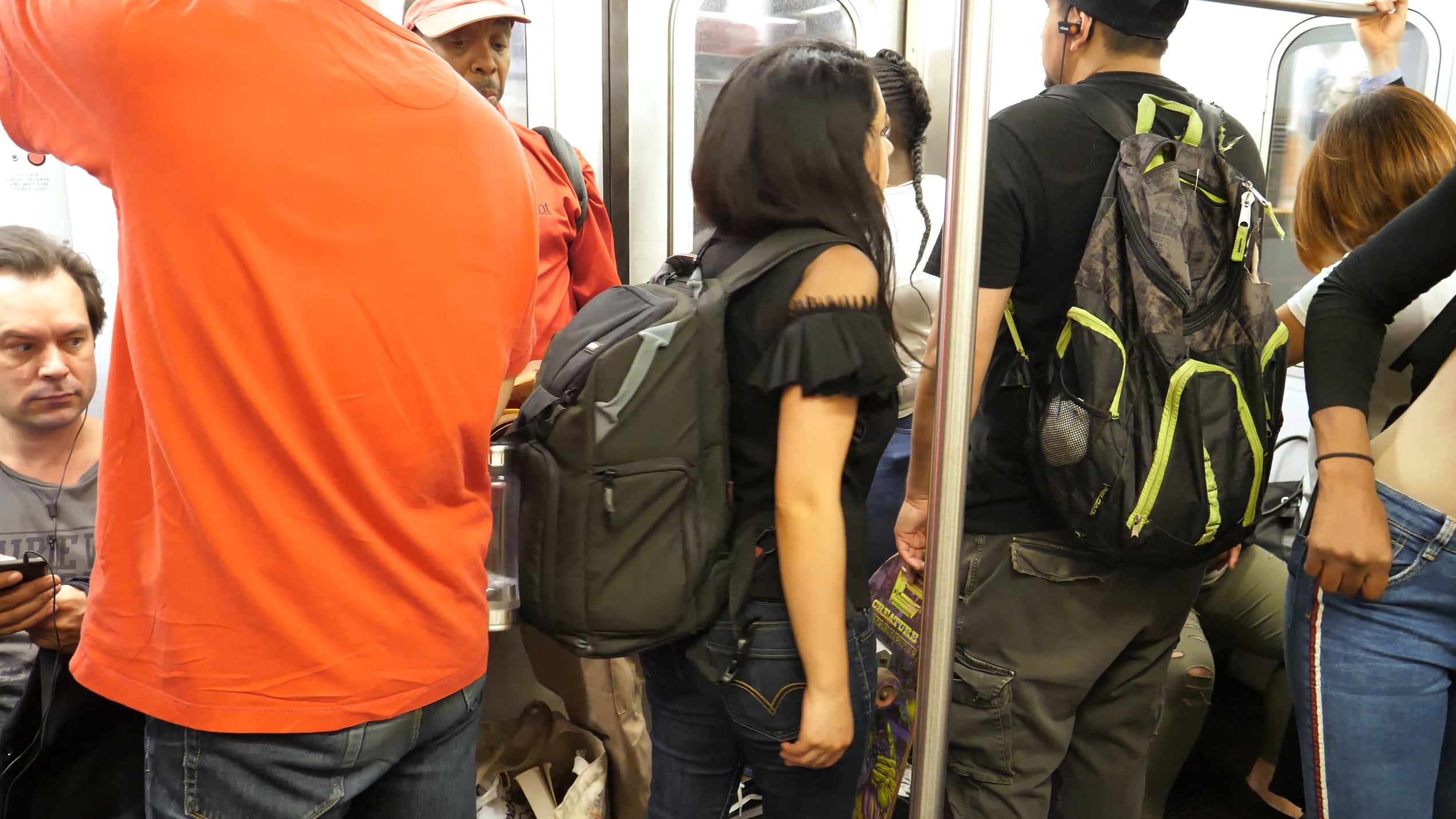 25 Things You Need to Know About the NYC Subway backpack