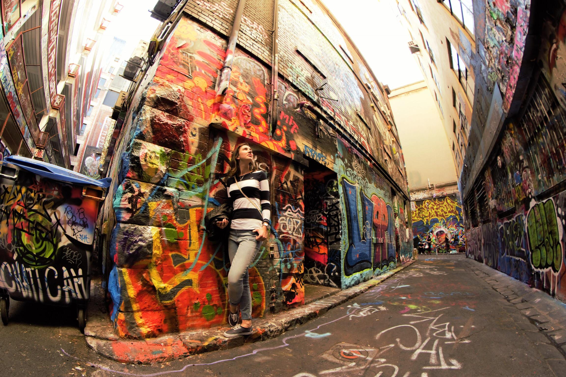 Top Things To Do in Melbourne street art laneways hosier lane