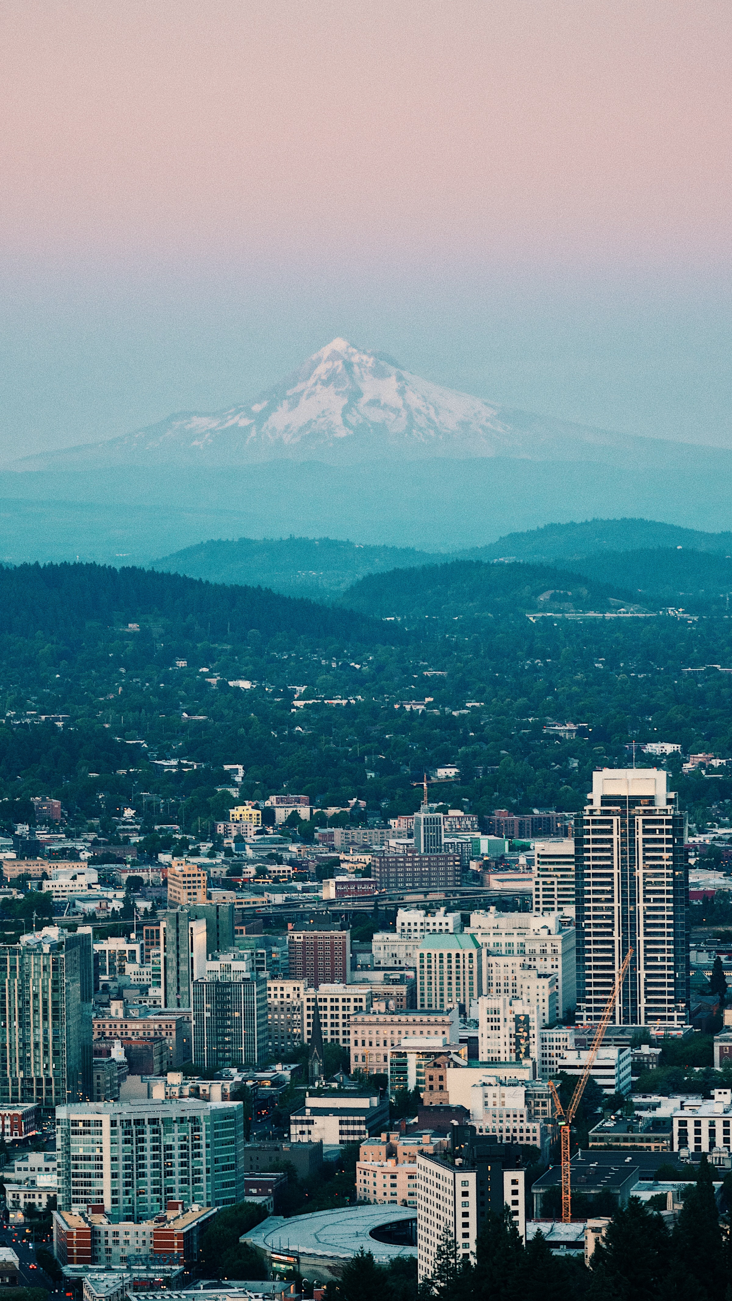 Pittock Mansion Mount views Portland Oregon