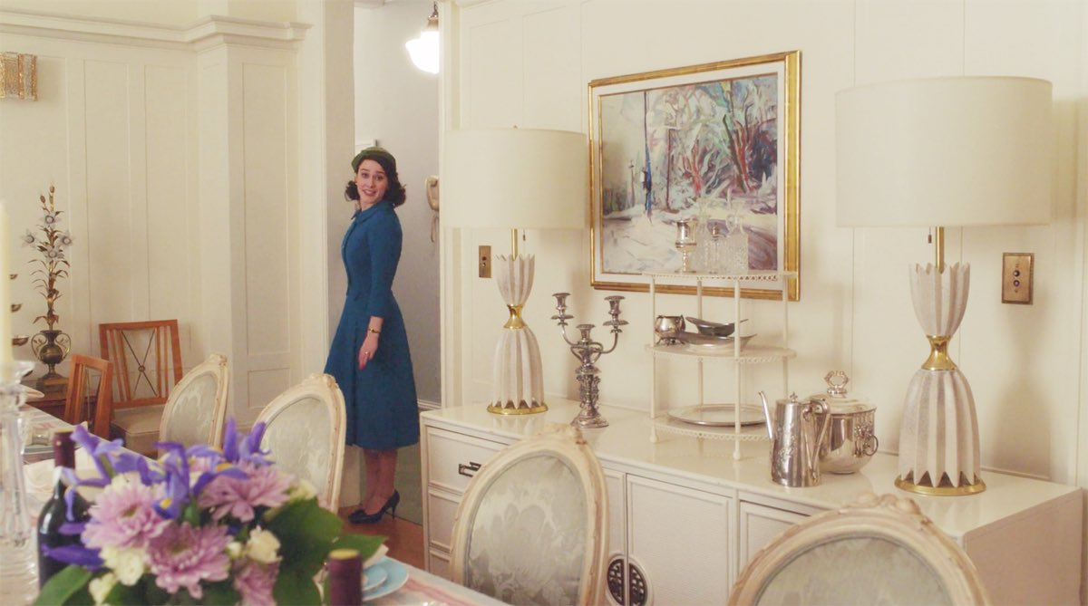 NYC Film Locations Guide to The Marvelous Mrs. Maisel Strathmore dining room