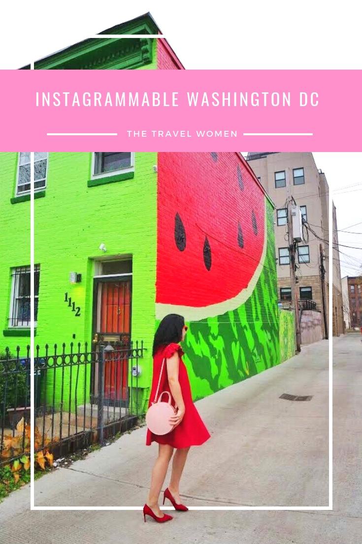 11 instagrammable Washington DC Spots pinterest
