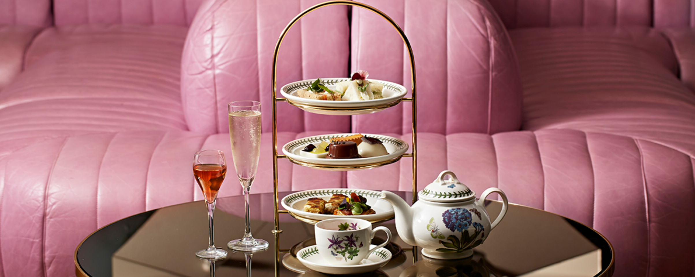 Afternoon tea, photo courtesy of Mondrian London