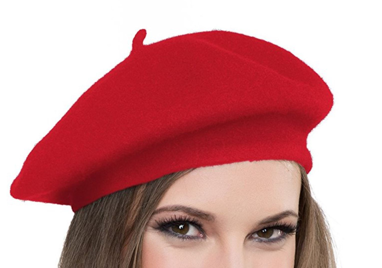 Red Parisian French Beret