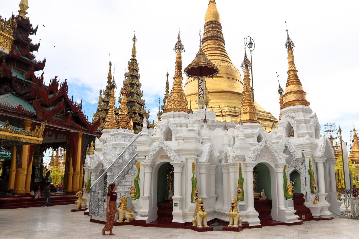 Myanmar Pagoda Yangon