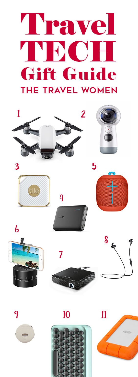 The Ultimate Travel Women Tech Gift Guide