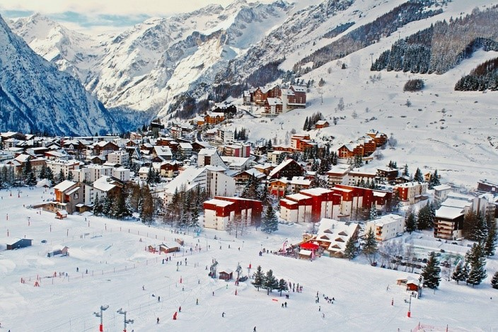 Morzine ski resort France