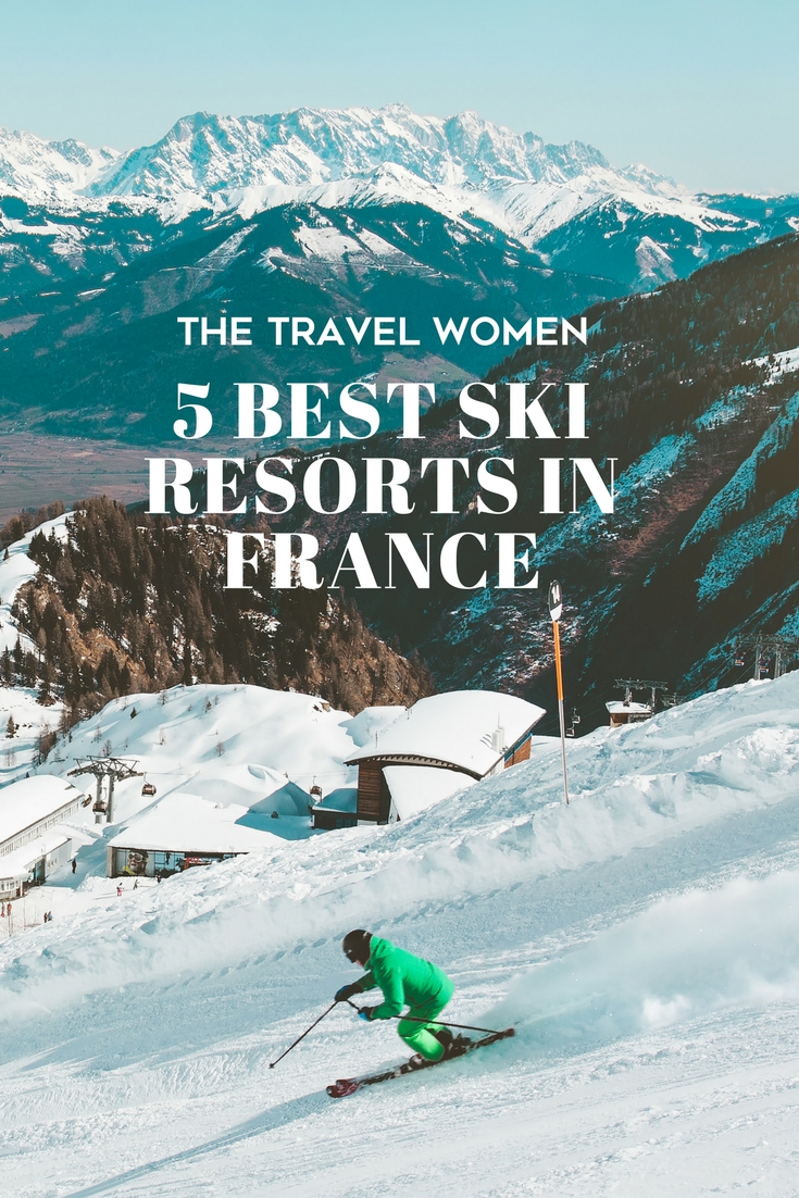 Best ski resorts in france