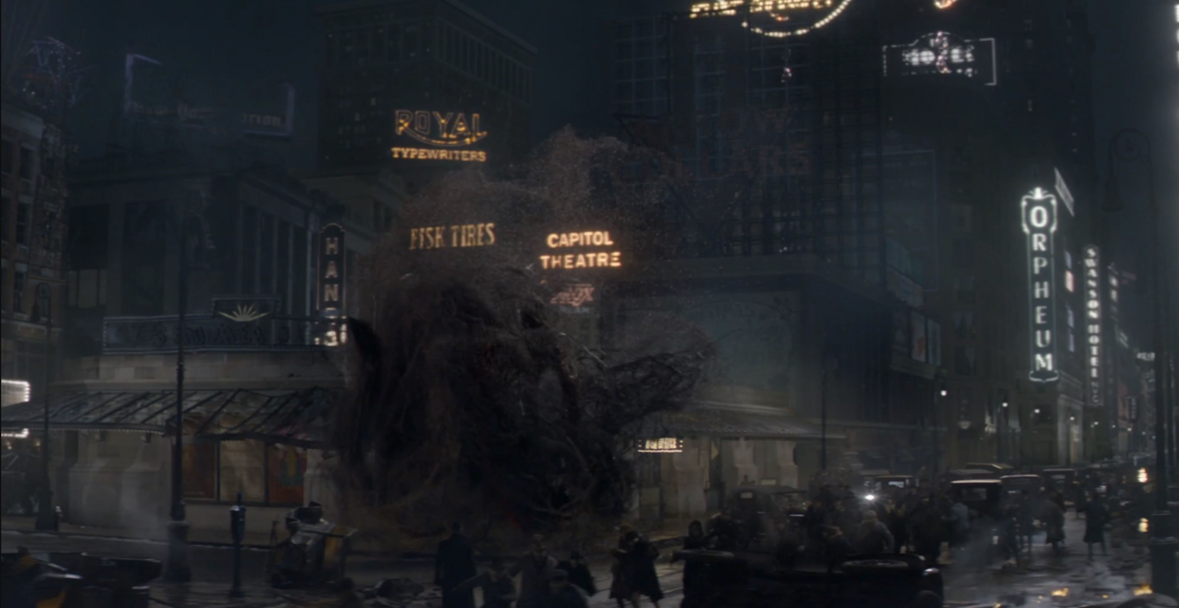 Capitol Theater Fantastic Beasts and Where to Find Them: New York City Locations