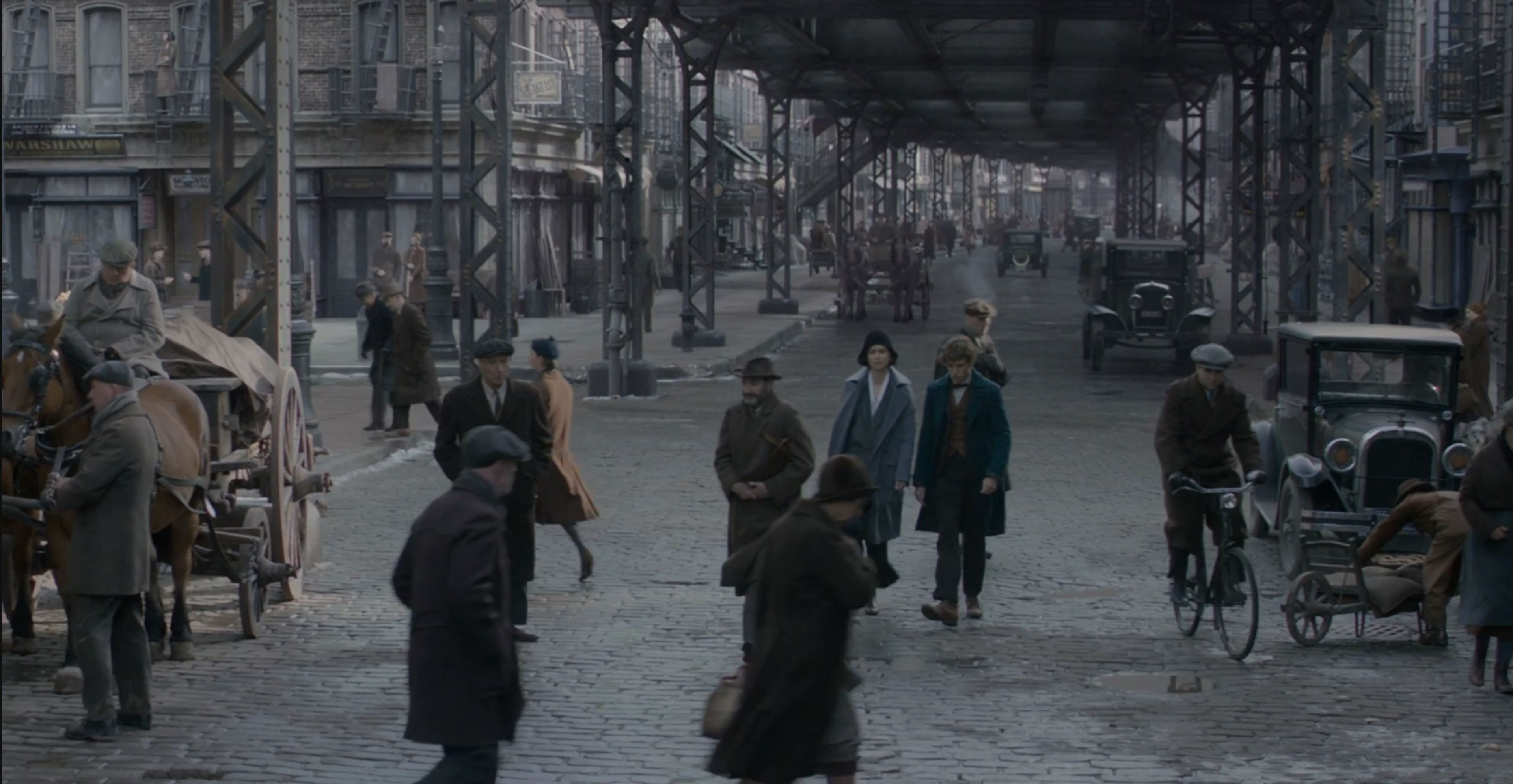 streets subway warshaw Fantastic Beasts and Where to Find Them: New York City Locations