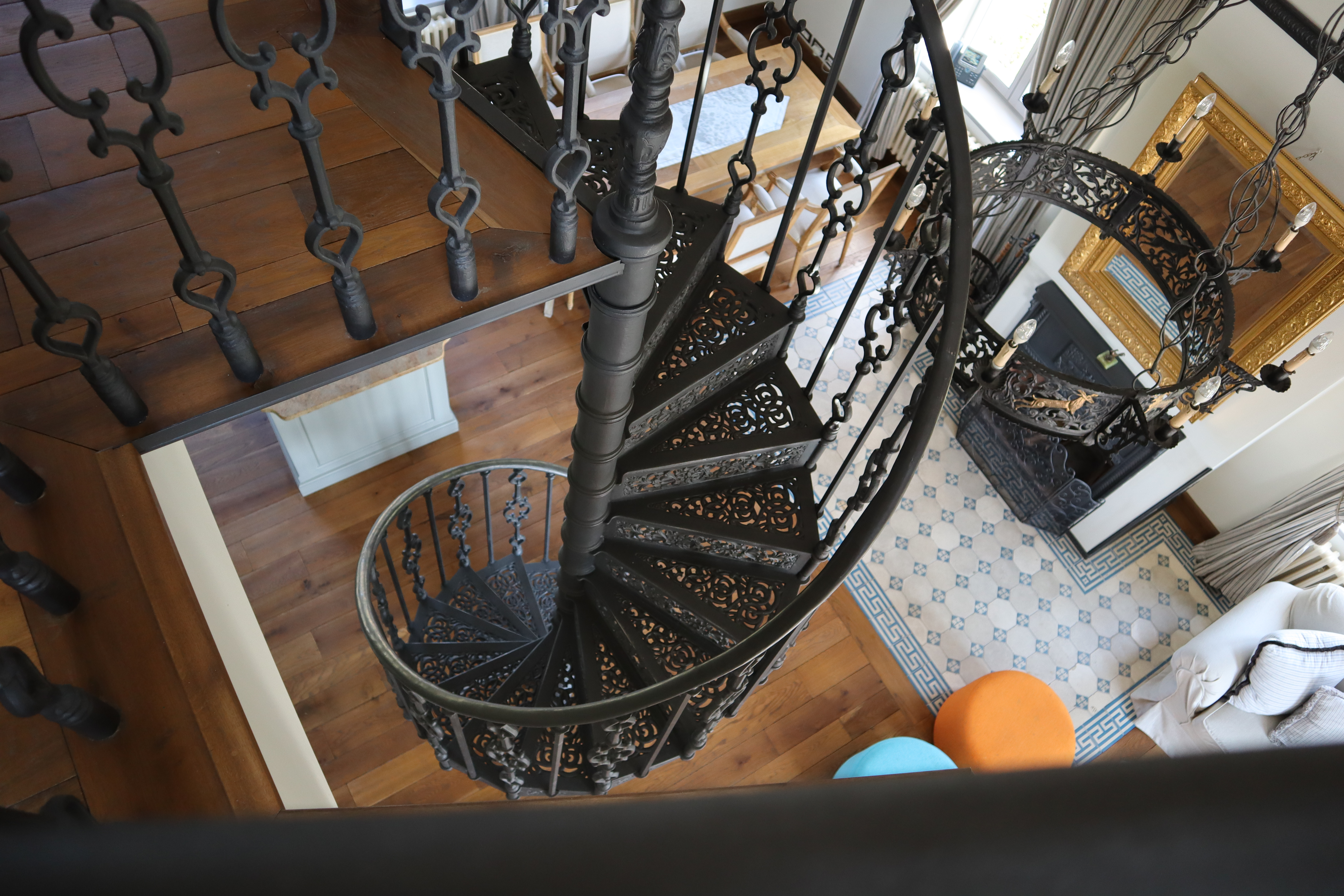 Presidential Suite Agape Spiral Staircase