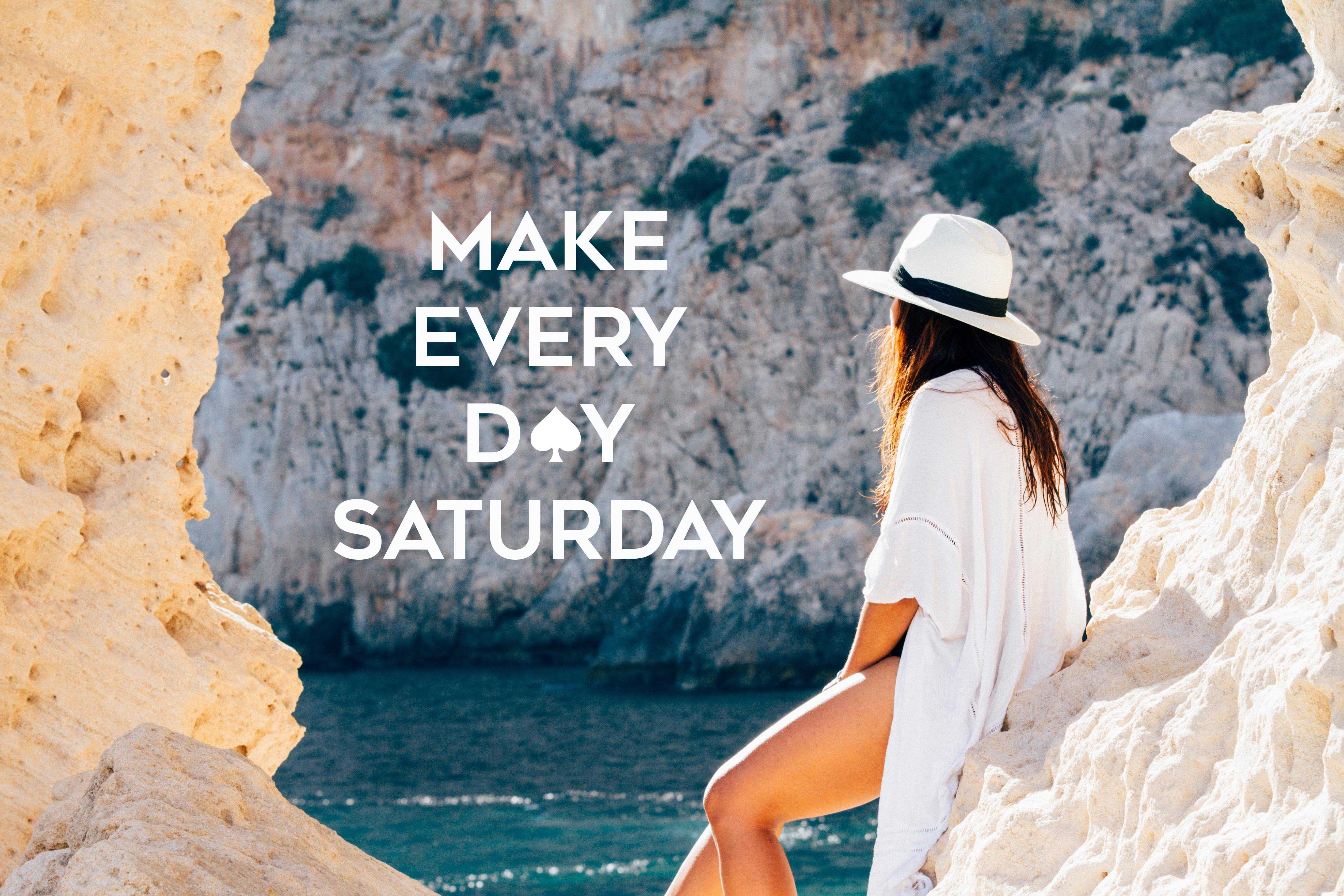 6 Make every day Saturday. Kate Spade The Travel Women
