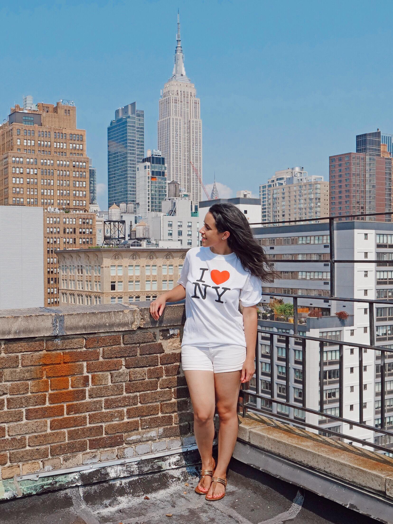 17 NYC Myths I Love NY t-shirt