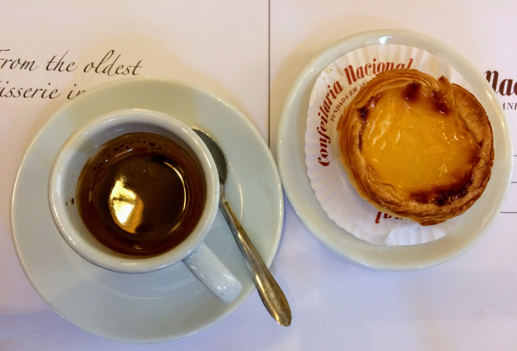 Top 11 Things to do in Algarve pastel de nata and coffee