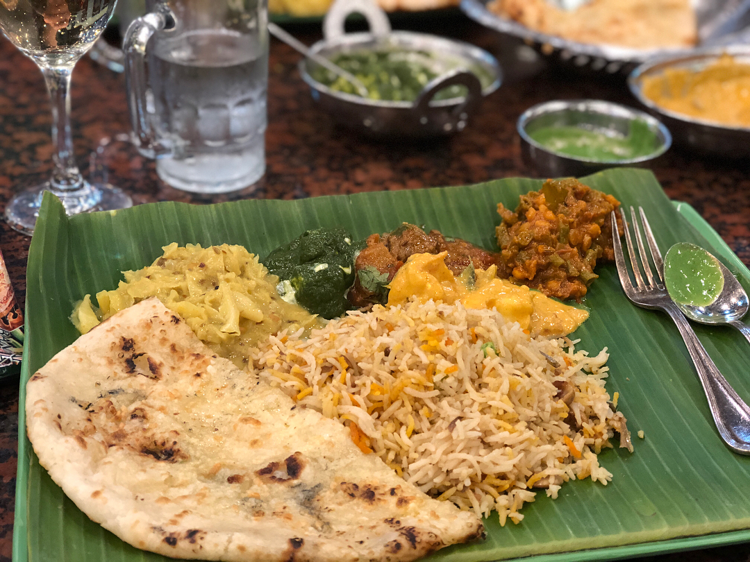 Singapore dining at The Banana Leaf Apolo in Little India
