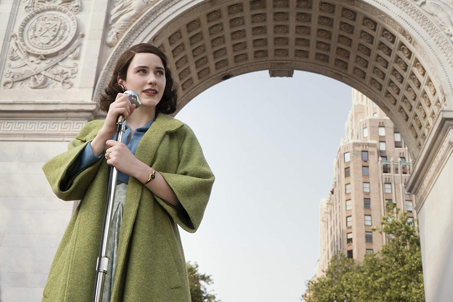 NYC Film Locations Guide to The Marvelous Mrs. Maisel Washington square park
