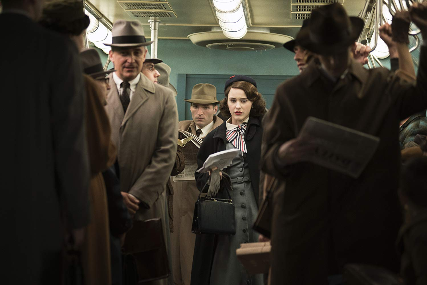 NYC Film Locations Guide to The Marvelous Mrs. Maisel subway