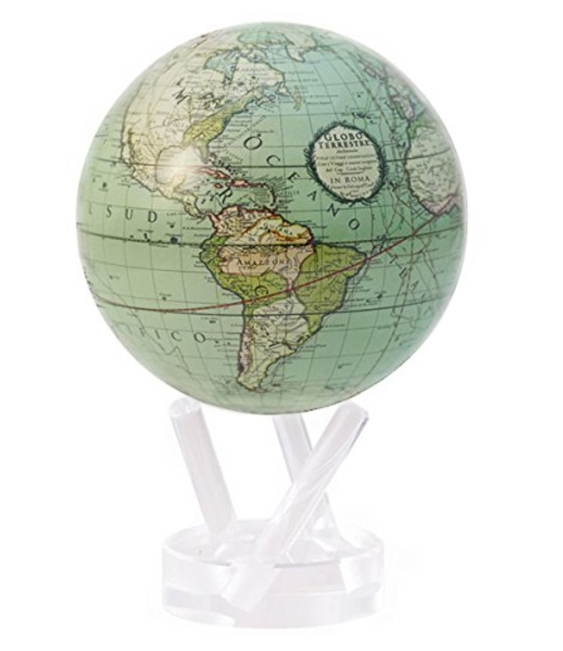 Mova globe How to Decorate a Travel Themed Bedroom