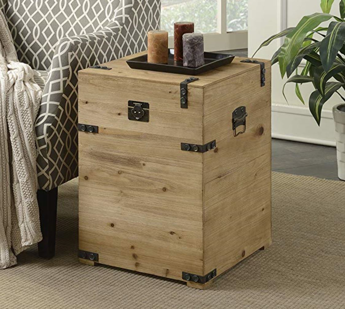 Trunk Nightstand How to Decorate a Travel Themed Bedroom