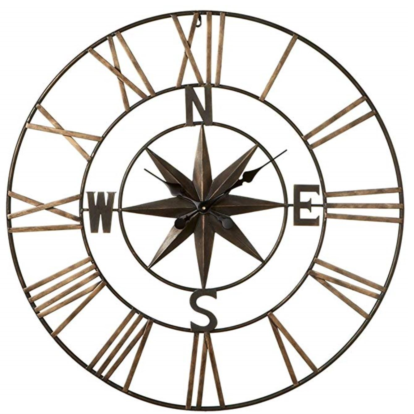 Compass travel clock How to Decorate a Travel Themed Bedroom