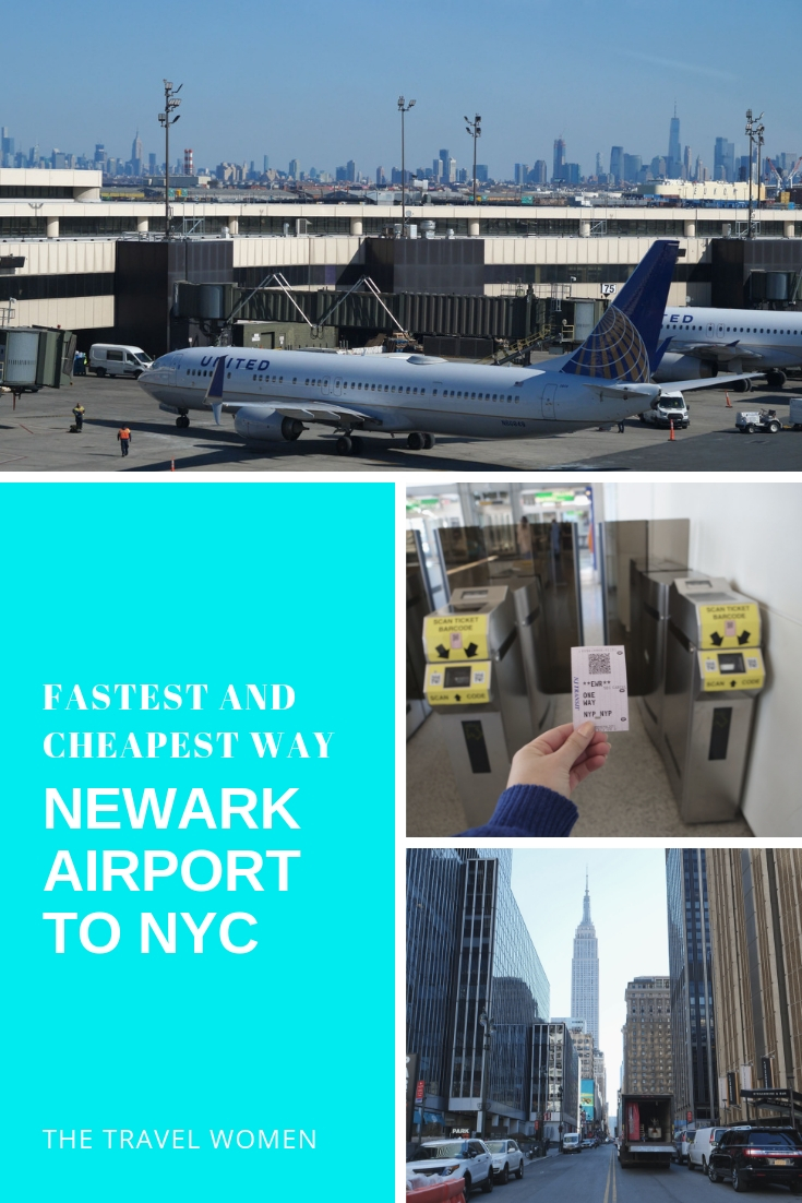 Newark Airport to NYC directions