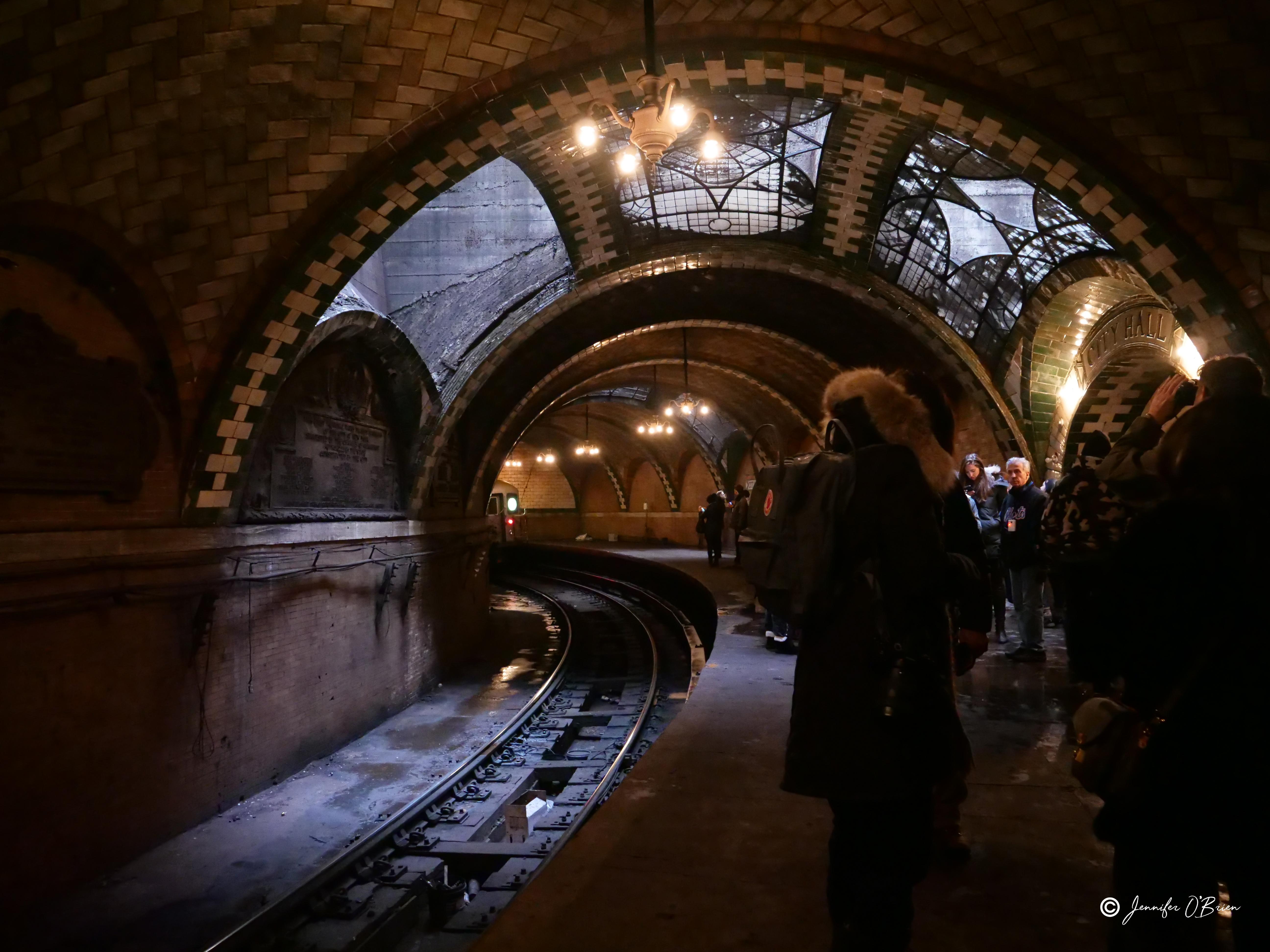 New York Transit Museum Tour NYC Abandoned City Hall Subway Station Photo Challenge