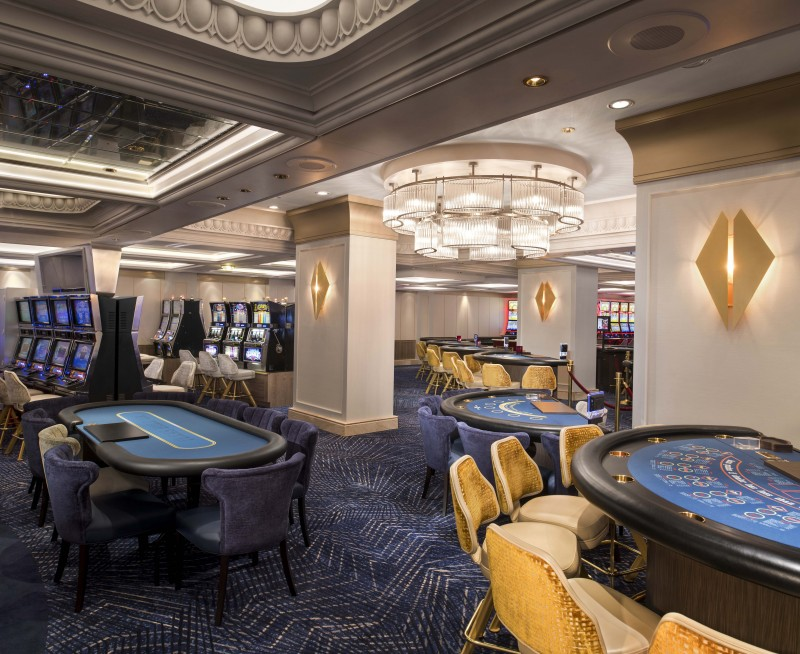 Cruise Guide: Celebrity Summit Revolution Renovations casino