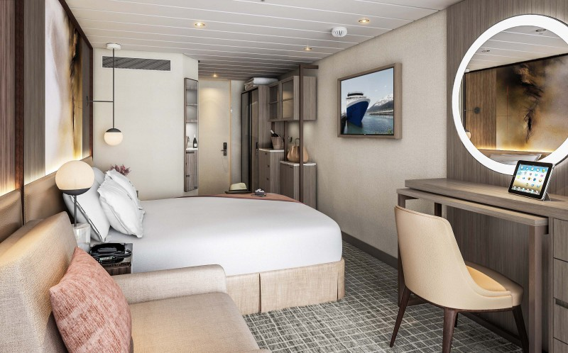 Cruise Guide: Celebrity Summit Revolution Renovations design Kelly Hoppen