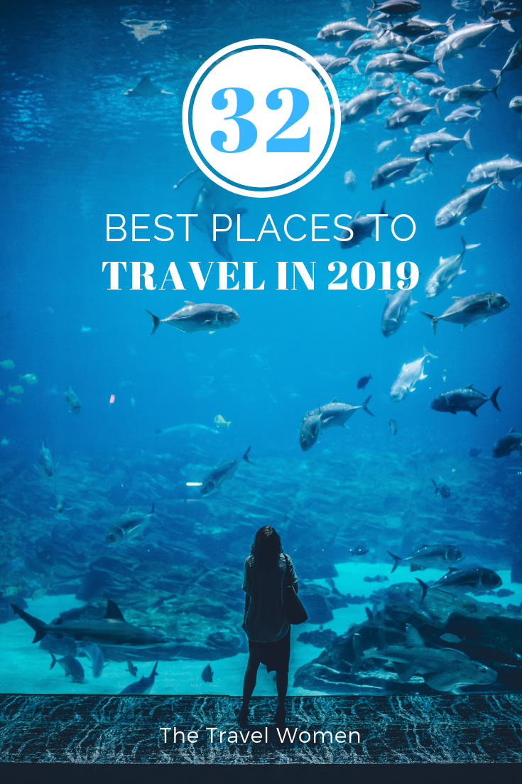 32 Best Places to Travel in 2019
