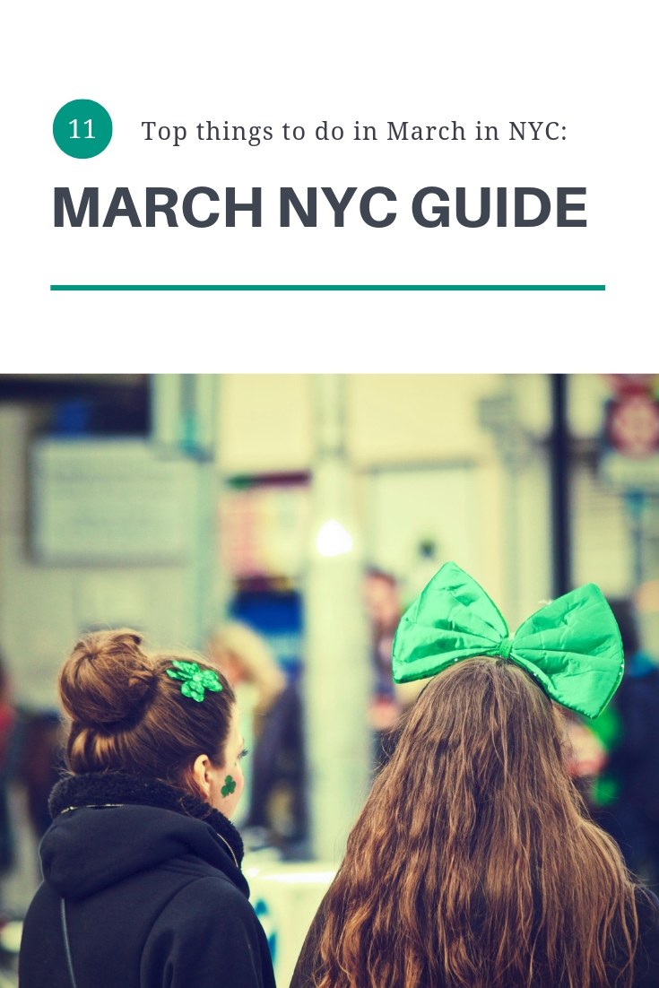 MARCH NYC GUIDE