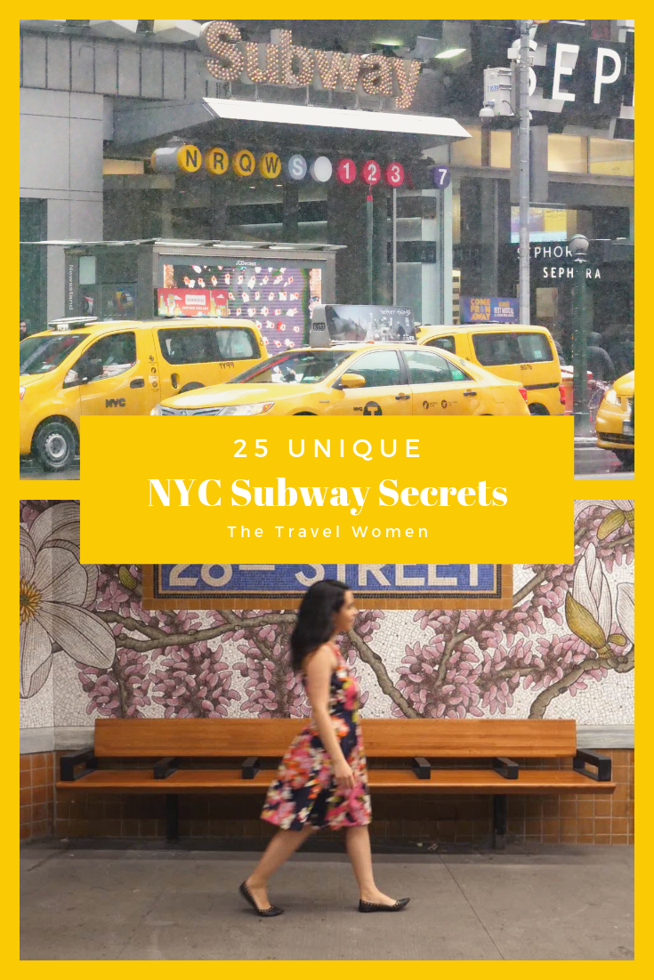 25 Subway Secrets in NYC 28th street and Times Square