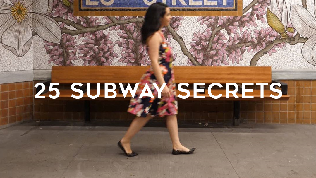 25 NYC subway secrets